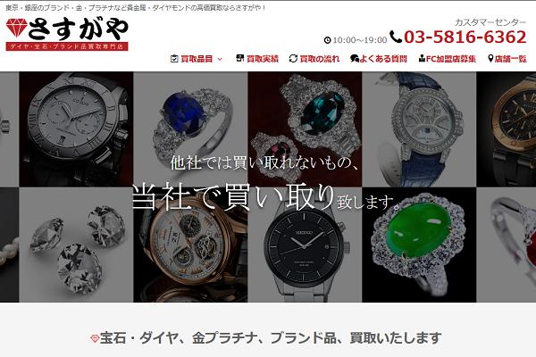さすがや高崎店のトップページ
